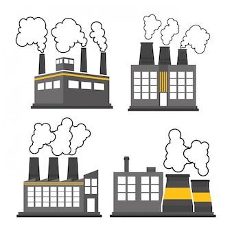 Fabrieksindustrie en bedrijfsontwerp