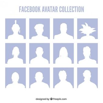 Facebook avatars collectie