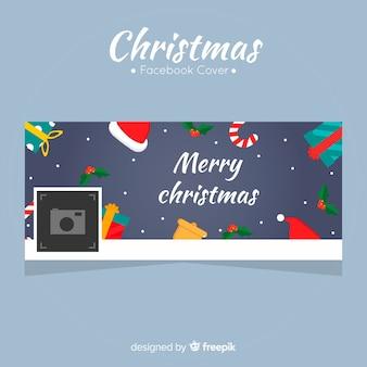 Facebook-cover voor kerstmis