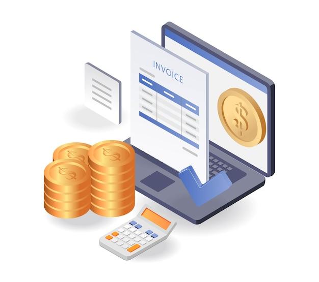 Factuurgegevens voor investeringszaken rapporteren