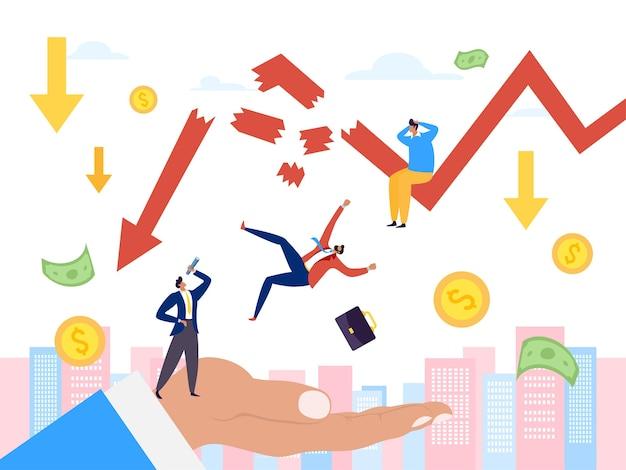 Faillissement en financiële crisis