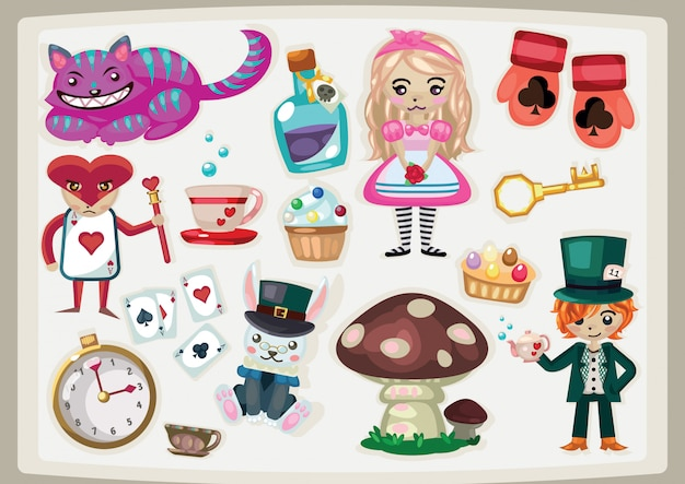 Fairlytale alice in wonderland