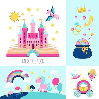 Fairy tale concept