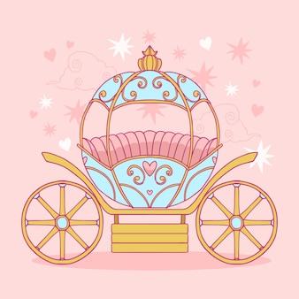 Fairytale vervoer concept