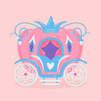Fairytale vervoer illustratie