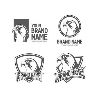 Falcon logo set