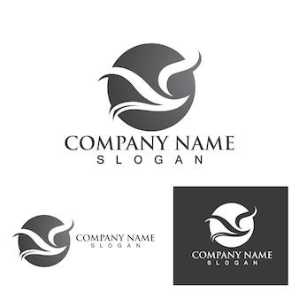 Falcon logo template vector illustratie ontwerp