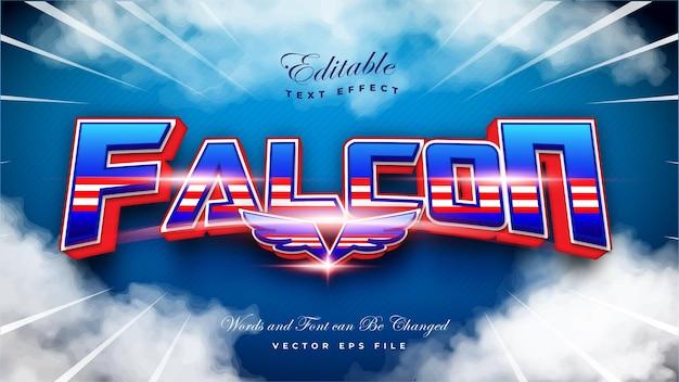 Falcon-teksteffect