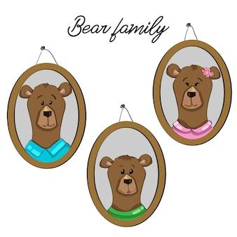 Familie dragen
