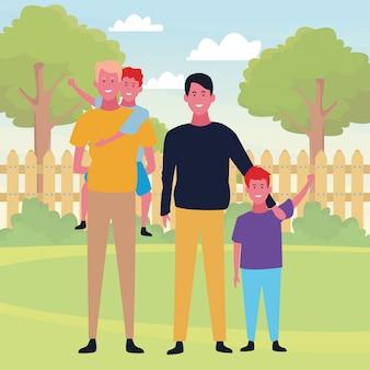 Familie en kinderen tekenfilms