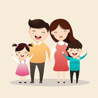 Familie karakter.