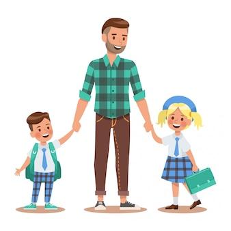 Familie levensstijl