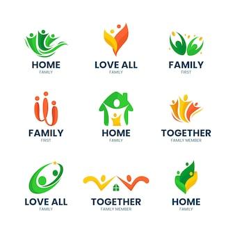 Familie logo pack