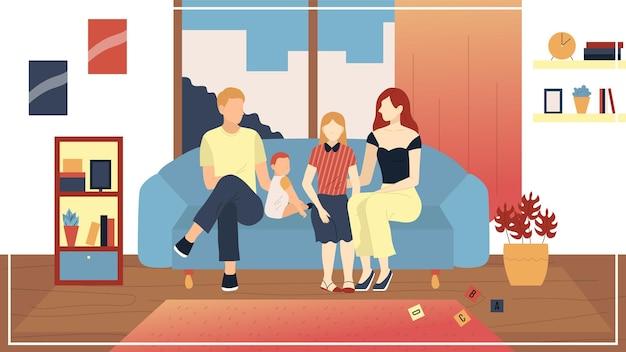 Familie vrijetijdsbesteding