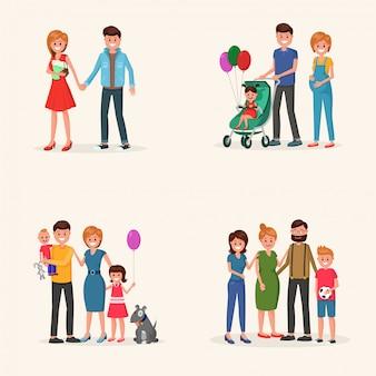 Familiegeschiedenis ingesteld