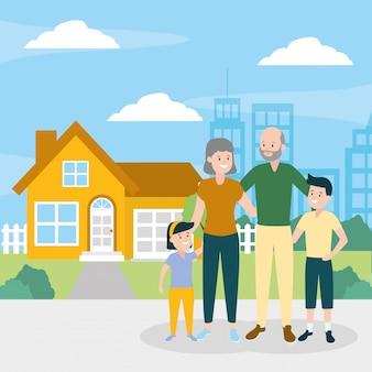 Familiy day buitenshuis
