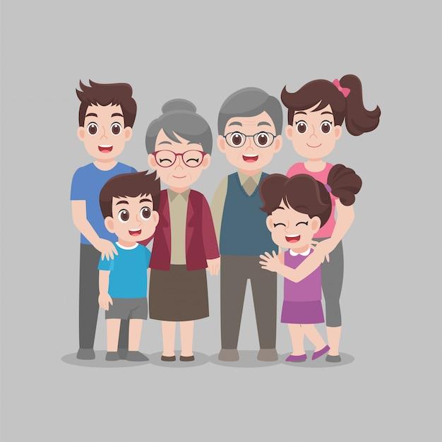 Family stay home blijf samen veilig thuis