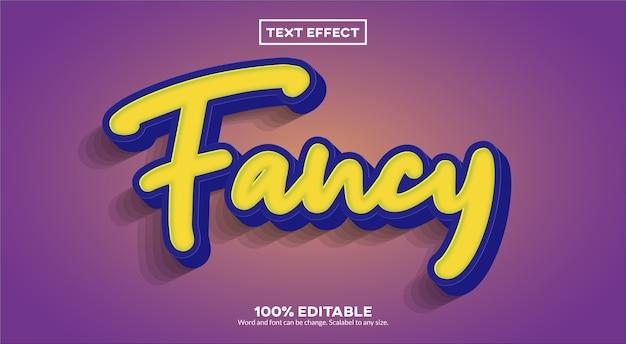 Fancy teksteffect