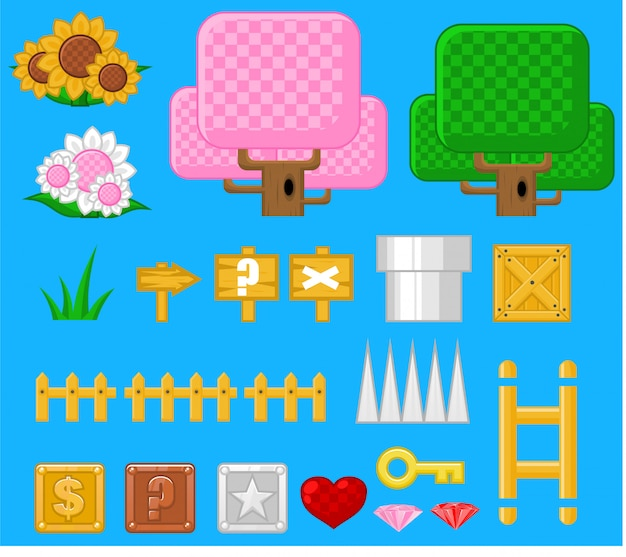 Fantasie game-objecten