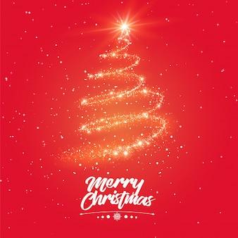 Fantastische fakkels van boom merry christmas