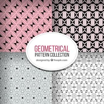Fantastische patronen met verschillende geometrische vormen