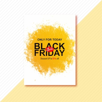 Fantastische poster voor zwarte vrijdag