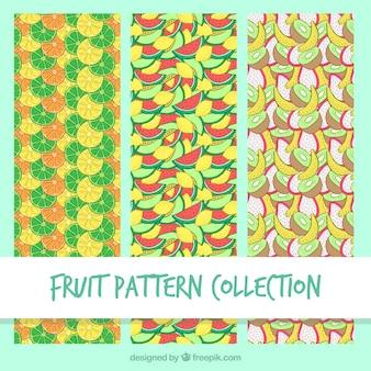 Fantastische selectie van fruitpatronen