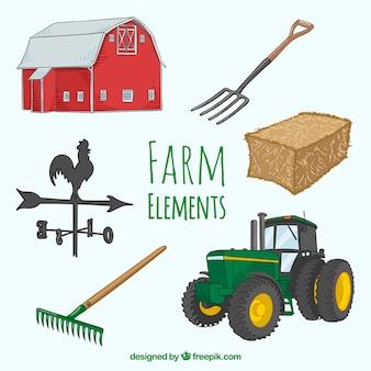 Farm elementen ontwerp