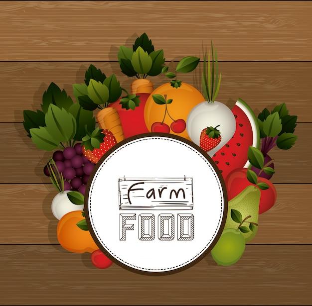 Farm voedselontwerp