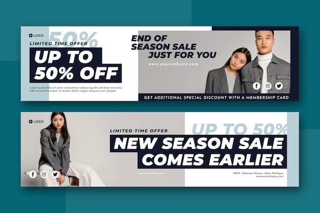 Fashion sale met korting