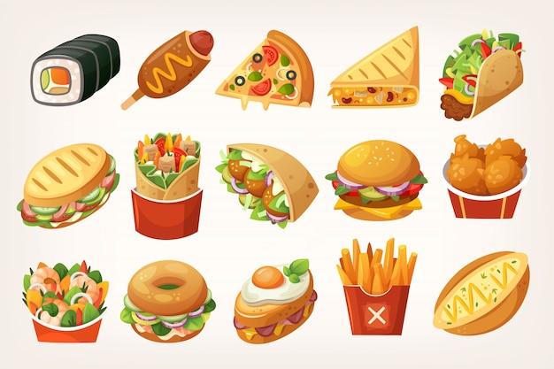 Fast-food maaltijden