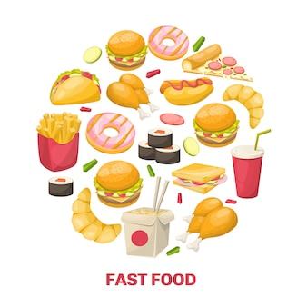 Fast food-ontwerp