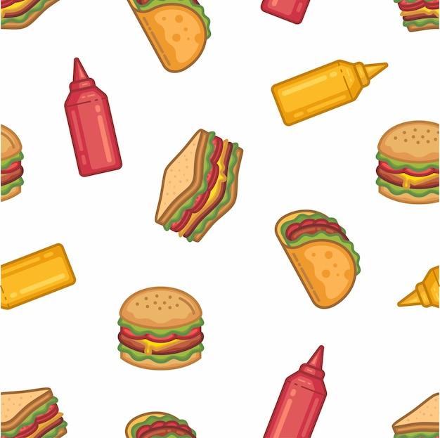 Fast food patroon