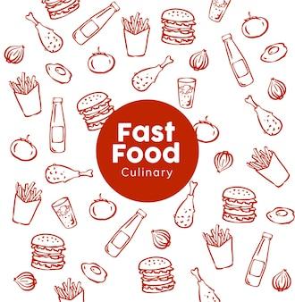 Fast-food patroon