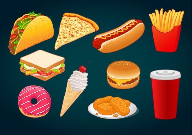Fast food-reeks