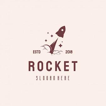 Fast rocket logo ontwerp