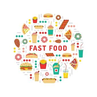 Fastfood eten
