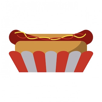 Fastfood hotdog