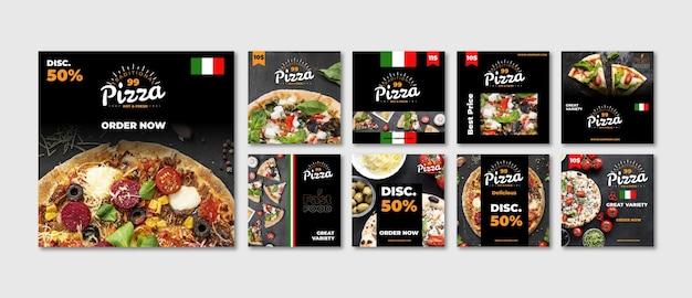Fastfood instagram postverzameling