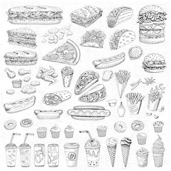 Fastfood instellen