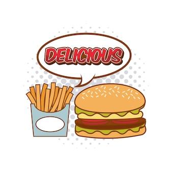 Fastfood-pop-art