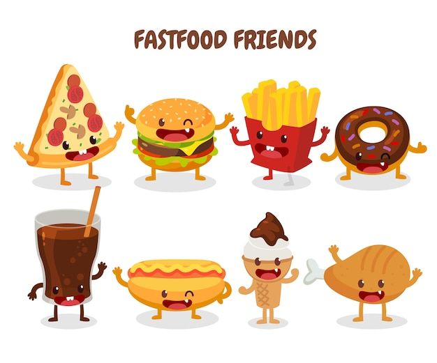 Fastfood vrienden