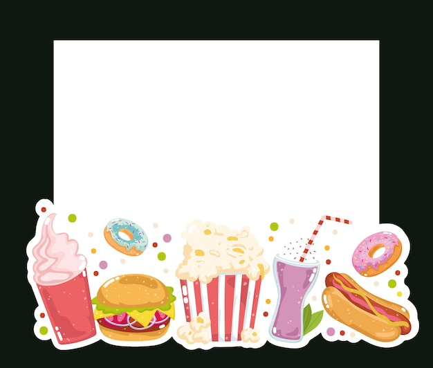 Fastfoodrestaurantproducten