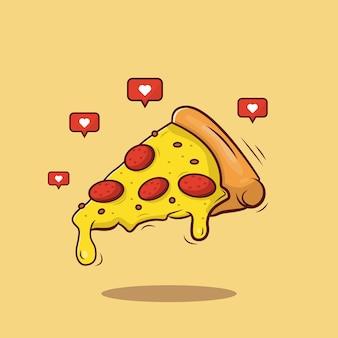 Favoriete heerlijke pizza