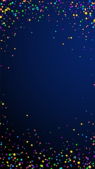 Feestelijke bizarre confetti