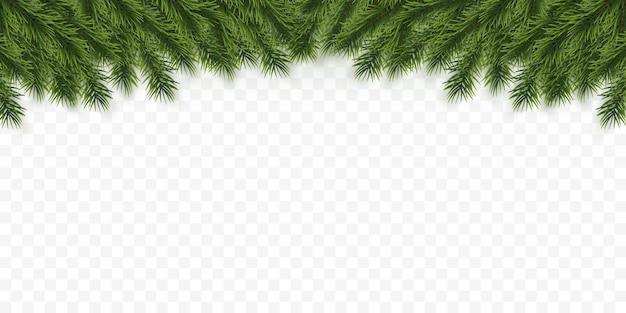 Feestelijke kerst- of nieuwjaarsachtergrond. kerstboomtakken. vakantie's achtergrond.