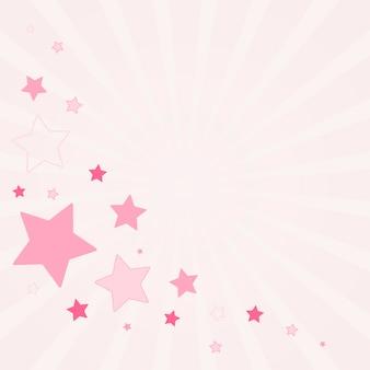 Feestelijke sterren achtergrondontwerpvector