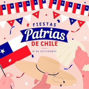 Feesten patrias de chili concept