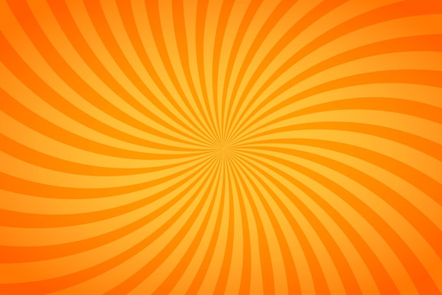 Fel oranje en gele strepen, gedraaide achtergrond