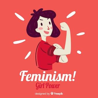 Feminisme concept